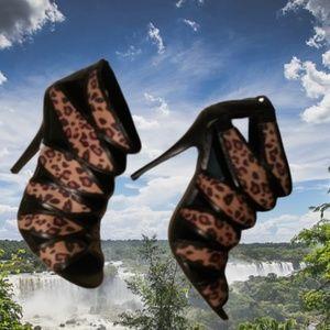 Mix No. 6 Leopard Leopard Charlize Bootie